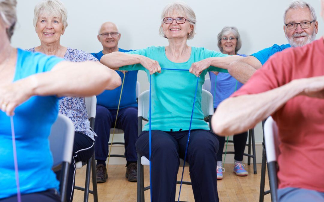 Chair exercises for seniors – how to get started